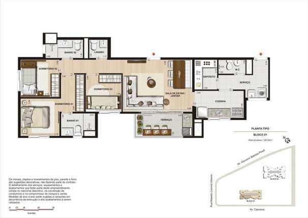 Apartamento 86m²
