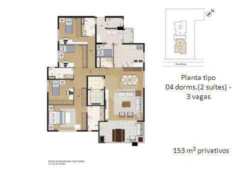 Apartamento 153m²