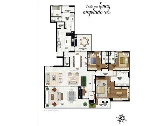 Apartamento 305m²