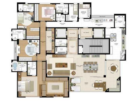 Apartamento 270m²