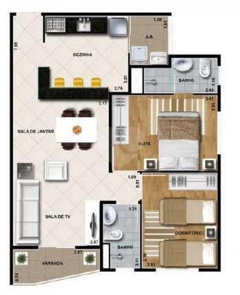 Venda Apartamento Guarulhos Ponte Grande REO 22